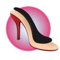 Indlægssåler til højhælede sko